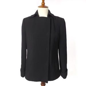 J. Crew Women's Career Black Wool Blazer Size 2